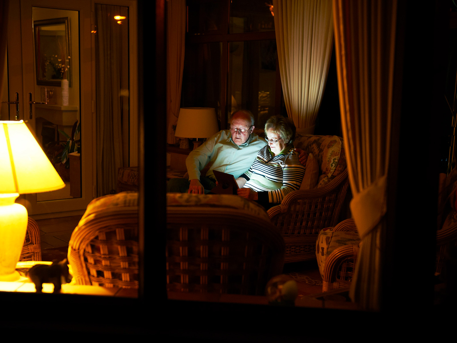 Grandparents at home